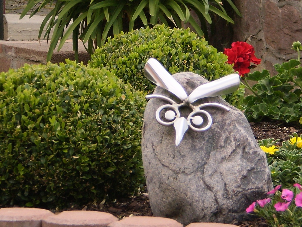 gartendekoration edelstahl – bankroute, Garten und erstellen